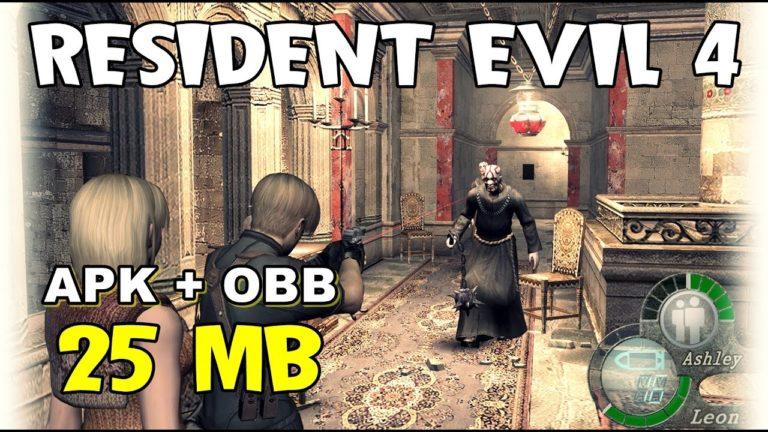 Resident Evil 4 Lite 25MB - Android - ANDROGAMER